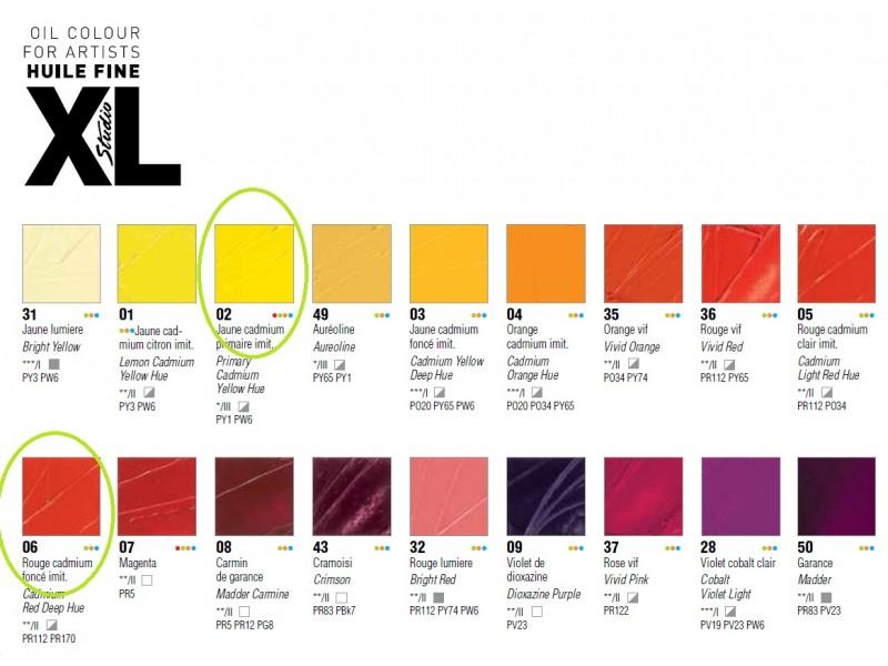 Pebeo oil colour Studio XL 660, 1 komad