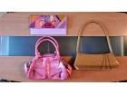 Pet torbica - roza, bez, braon, zelena