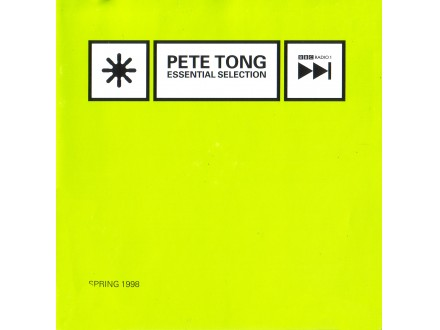 Pete Tong - Essential Selection - Spring 1998