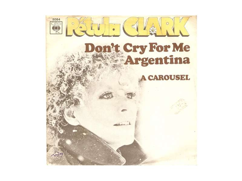 Petula Clark - Don`t Cry For Me Argentina
