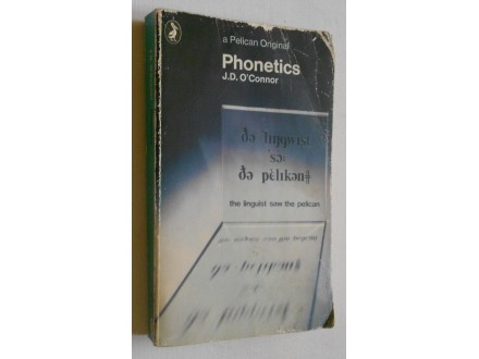 Phonetics -  J.D. O`Connor