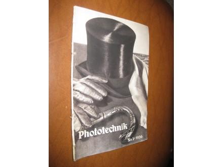 Photo-Technik Nr. 1 (1936.)