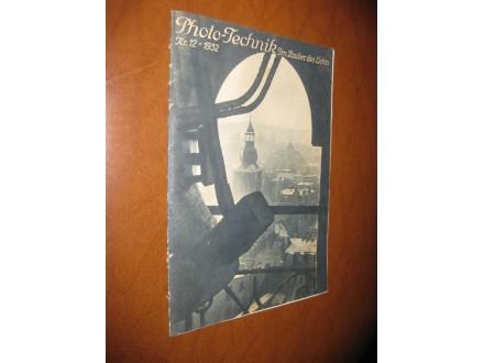 Photo-Technik Nr. 12 (1932.)