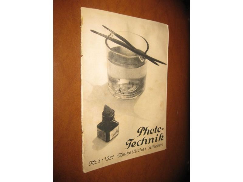 Photo-Technik Nr. 3 (1931.)