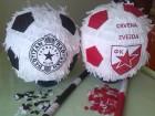 Pinjata lopta Crvena Zvezda(pre kupovine kontakt)