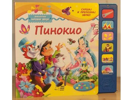 Pinokio - Čarobni zvuci (zvučna knjiga)