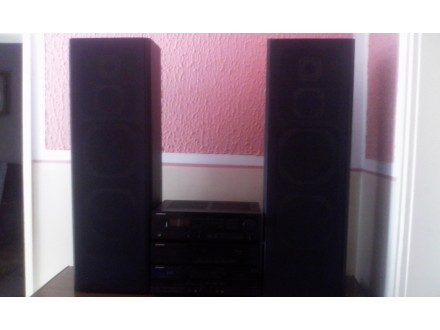 Pioneer rIsiver,pioneer deck.pioneer cd+zvucnici SHARP