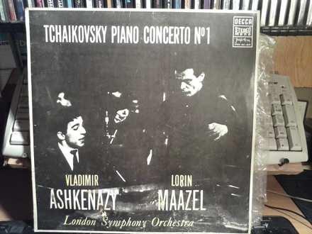 Piotr Illitch Tchaïkovsky, Vladimir Ashkenazy, Lorin Maazel, London Symphony Orchestra, The - Piano Concerto N° 1