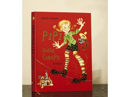 Pipi Duga Čarapa, trilogija - Astrid Lindgren