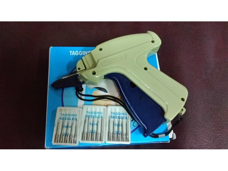 Pistolj za splinte + 5 igle +1000 splinti