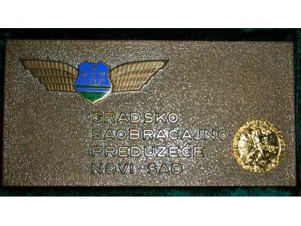 Plaketa-GSP Novi Sad