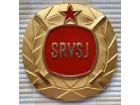 Plaketa Savez rezervnih vojnih starešina Jugoslavije