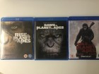 Planet of the apes trilogy (remake) blu ray
