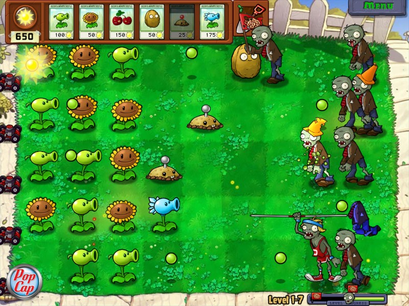 Plants VS Zombies i Tower Bloxx Deluxe PC