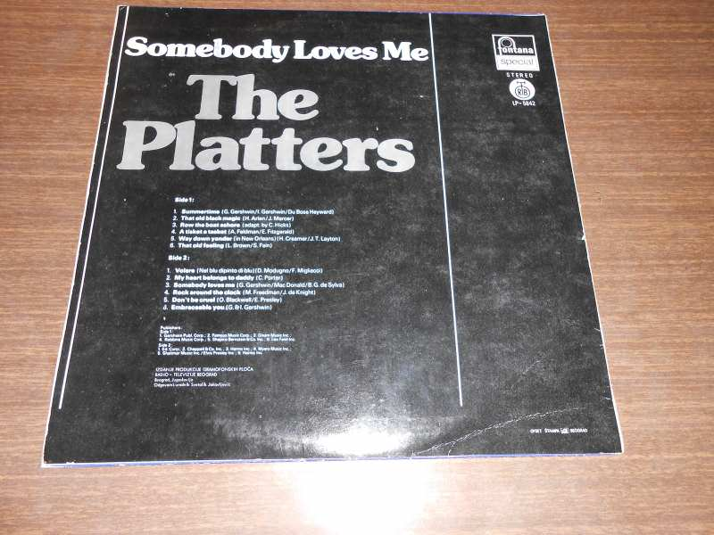 Platters, The - only you / here comes the boogie man