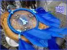 Plava ogrlica hvatac snova