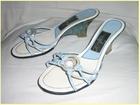 Plave papuce na stiklu - broj 37/24cm