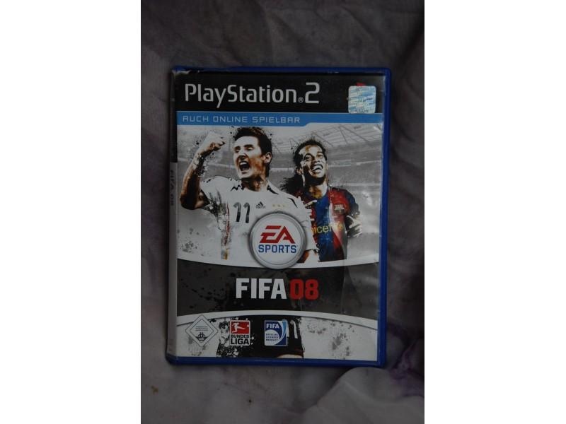 PlayStation 2 FIFA 08