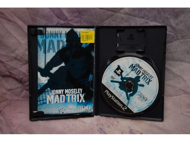 PlayStation2  JONNY MOSELEY MAD TRIX
