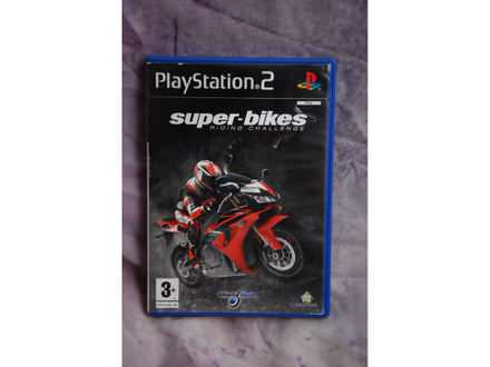 PlayStation2 SUPER-BIKES RIDING CHALLENGE