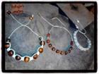 Pletene narukvice od drvenih perli,BOHO,Indian stil