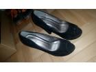 Plisane crne cipele