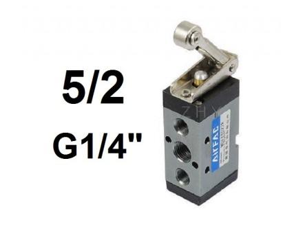 Pneumatski razvodnik krajnji prekidac roler 5/2 G1/4″