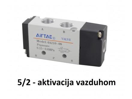 Pneumatski razvodnik pritiskom aktivacija 5/2 G1/4″