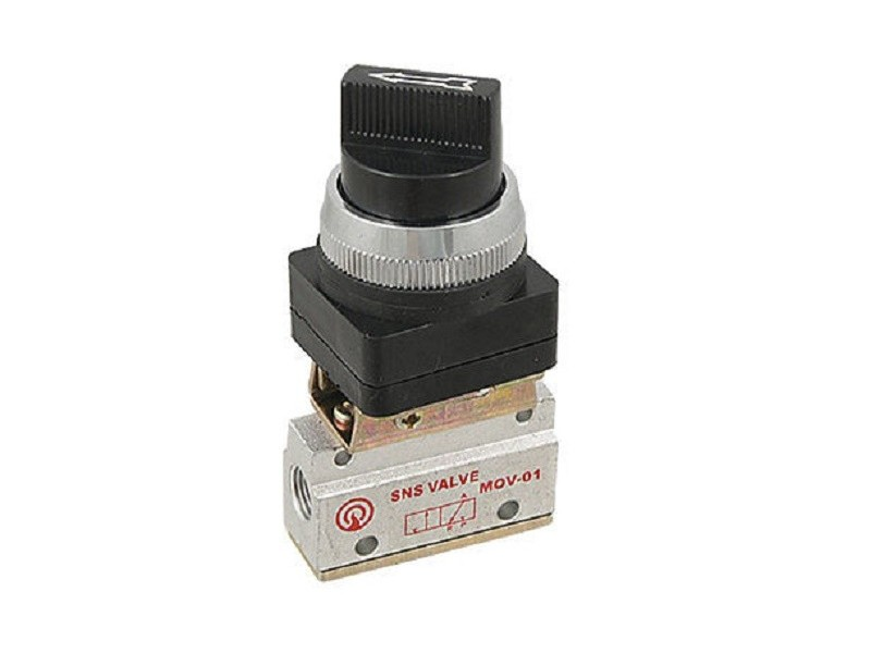 Pneumatski rucni ventil - 1/8` - NC - MOV-01