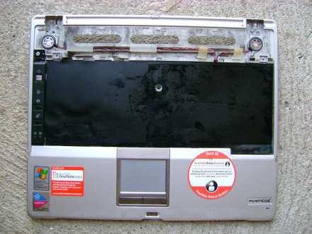 Poklopac kucista sa touchpadom za Toshiba Portege M300