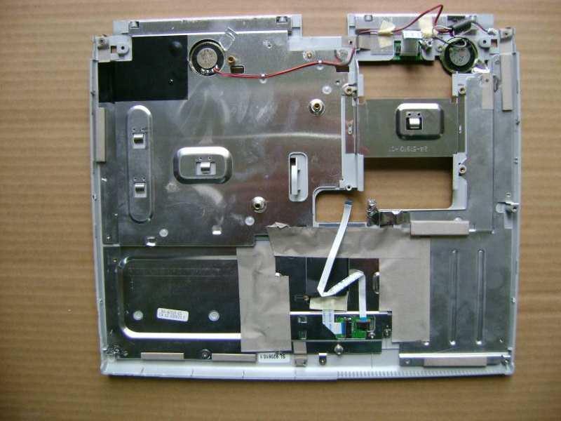Poklopac sa touchpadom za Medion MD40090