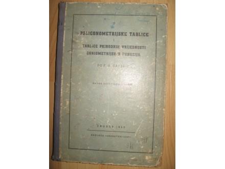 Poligonometrijske tablice