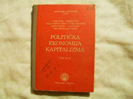 Politicka ekonomija Kapitalizma