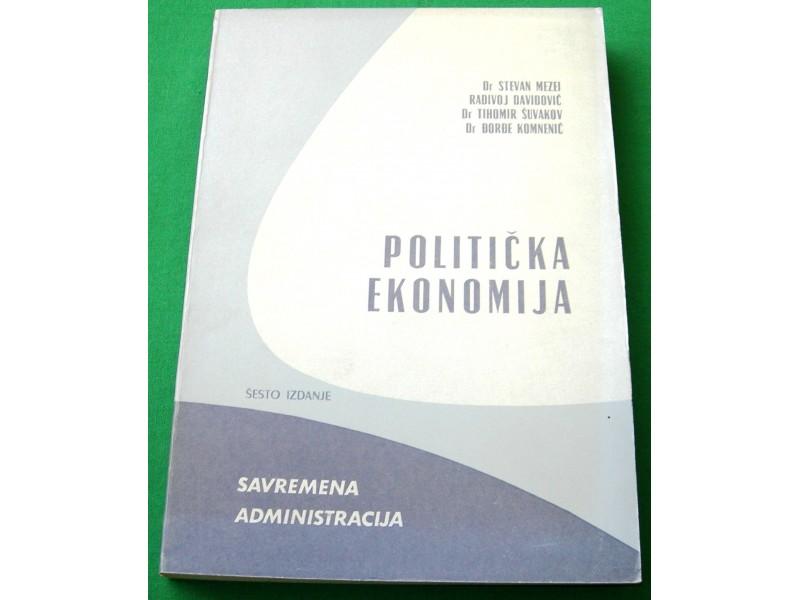 Politička ekonomija - Mezei, Davidović, Šuvakov...