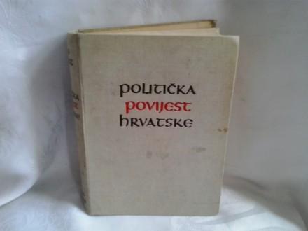 Politička povijest Hrvatske Josip Horvat