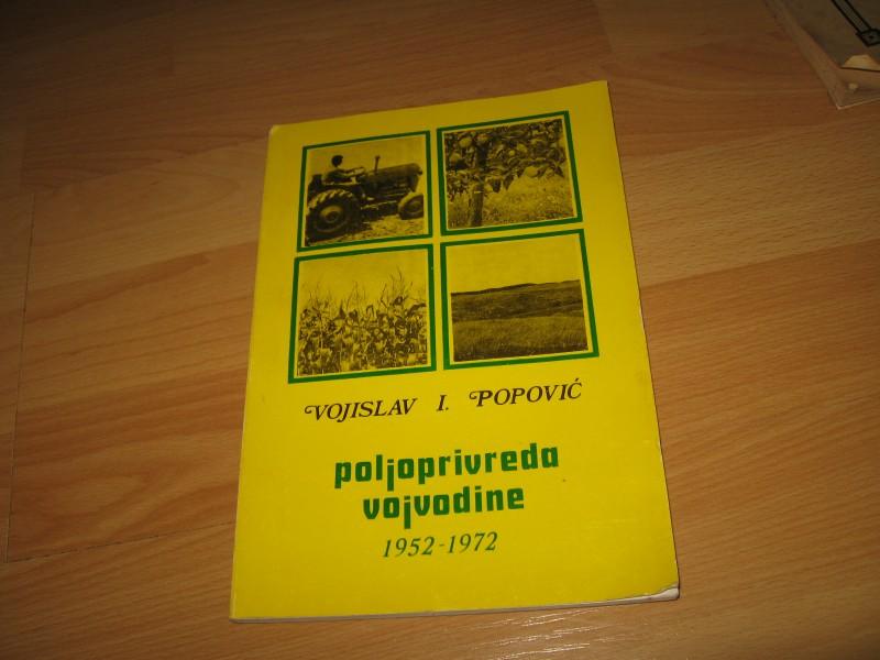Poljoprivreda Vojvodine 1952-1972