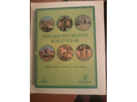 Poljoprivredni kalendar 1981.