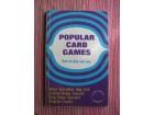Popular card games ( igre sa kartama)