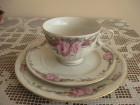 Porcelanski servis za kafu i desert za jednu osobu NOVO