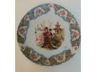 Porcelanski ukrasni tanjir