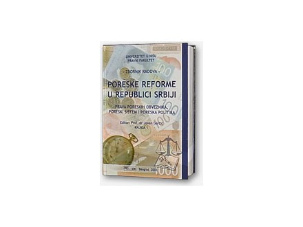Poreske reforme u republici Srbiji-knjiga 2, nova