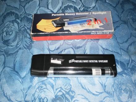 Portable Money Detector MD-118
