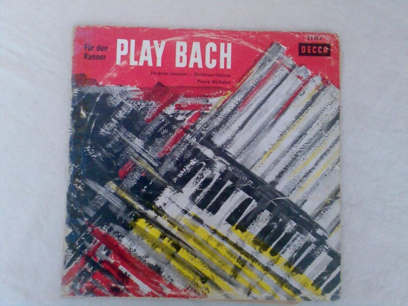Portrait In Gold: Play Bach