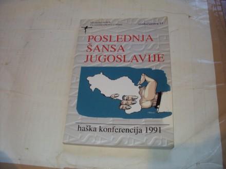 Poslednja sansa Jugoslavije,haska konferencija 1991.
