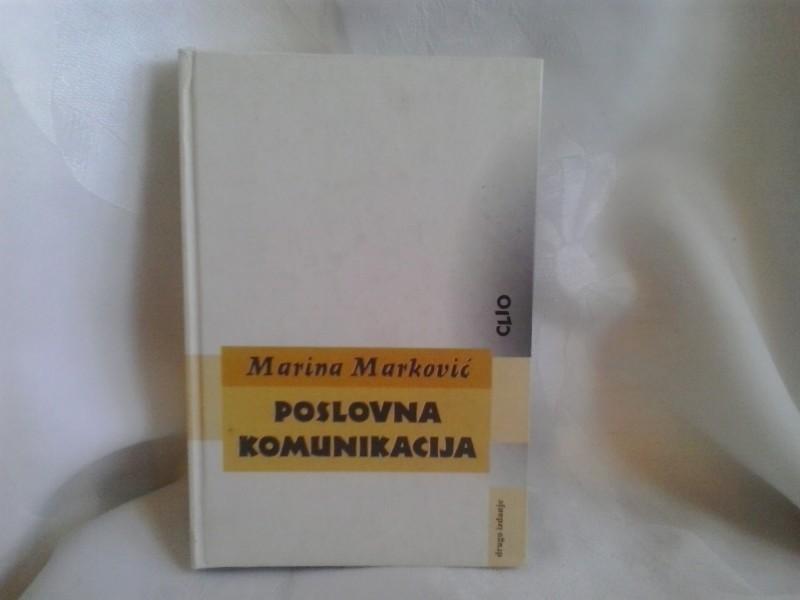 Poslovna komunikacija, Marina Marković