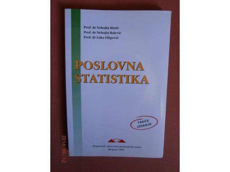 Poslovna statistika, Nebojsa Maric