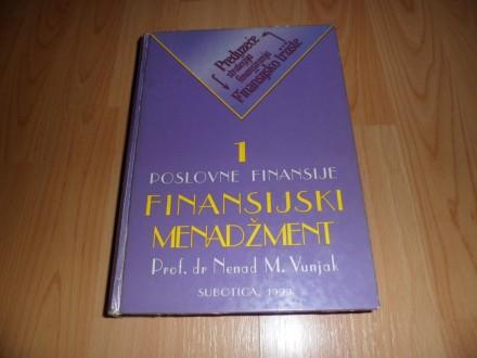 Poslovne finansije - Finansijski menadzment