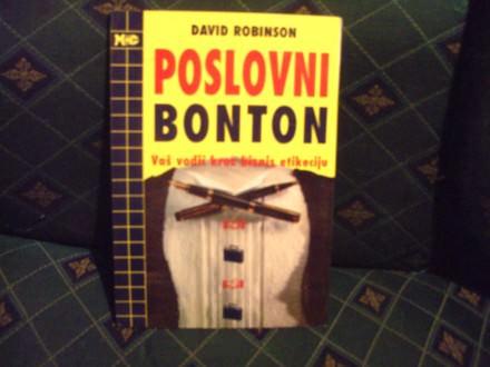 Poslovni bonton, David Robinson