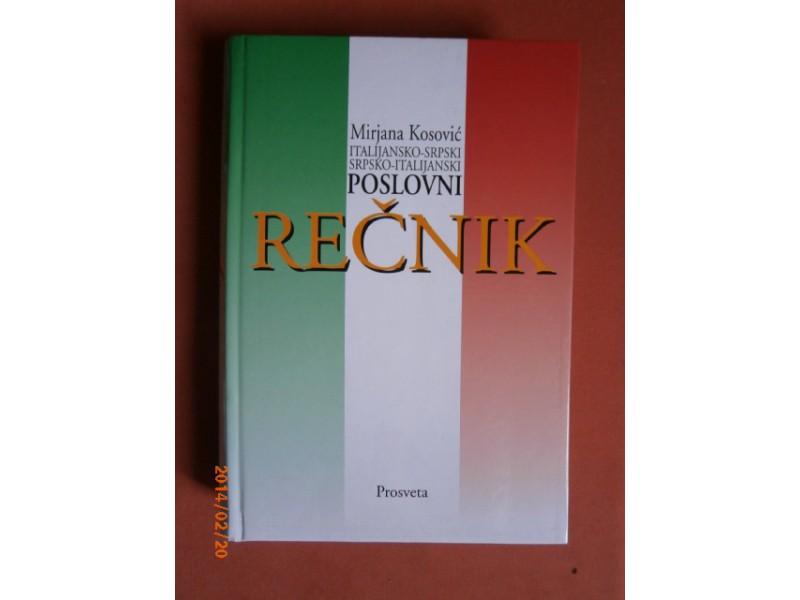 Poslovni recnik ( ita-srp, srp-ita ), Mirjana Kosovic
