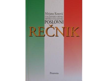 Poslovni rečnik italijansko srpski, srpsko italijanski